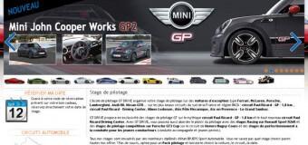 Stage de pilotage chez GT DRIVE.