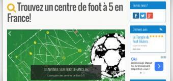 Où jouer au foot à 5 en France ?