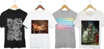 Craquez pour l'un des t-shirts de la boutique Tunetoo