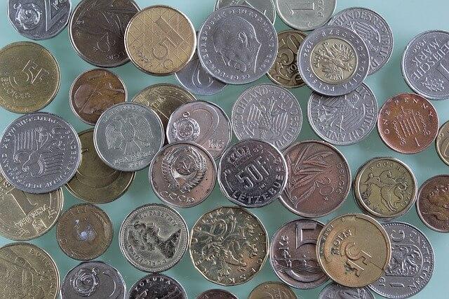 vieilles pieces d'argent