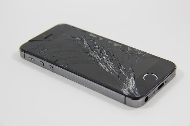 ecran iphone casse
